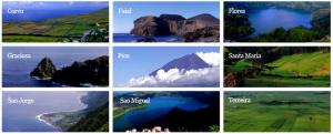 Девять Азорских островов в эфире в течение двух выходных дней