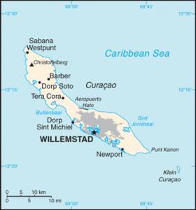 Curacao_Map
