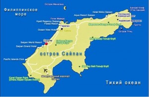 Saipan map