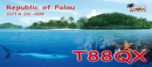T88QX - Палау, IOTA OC-009