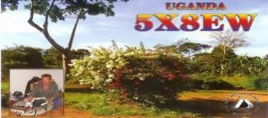 5X8EW – Uganda