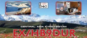 EX/HB9DUR – Kyrgyzstan