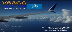 V63GG – Yap Island, F.S.M.